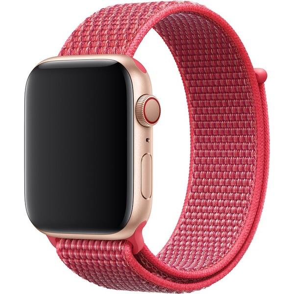 a32961c88 Apple Watch provlékací sportovní řemínek 44/42mm ibišková
