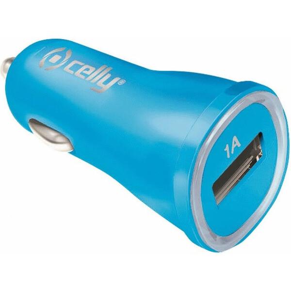 CELLY autonabíječka USB 1A modrá