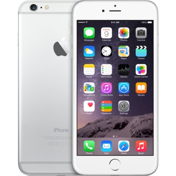 Apple iPhone 6 Plus, 16GB Stříbrná