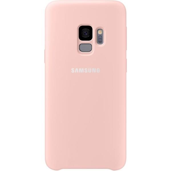 Samsung silikonový zadní kryt Samsung Galaxy S9 růžový EF-PG960TPEGWW Růžová