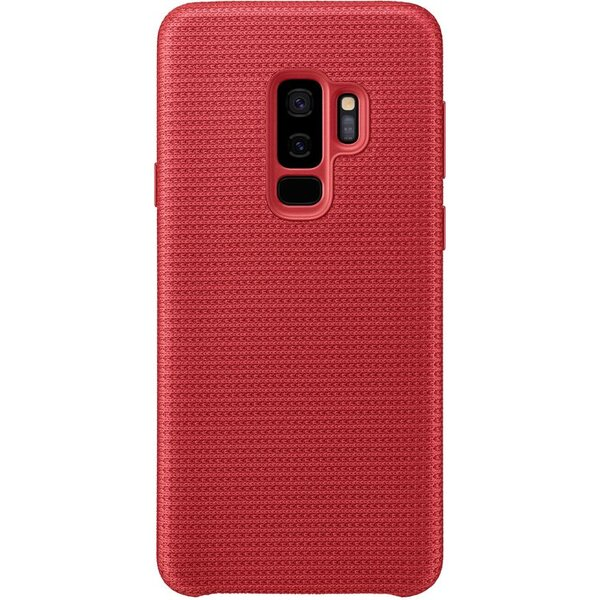 Samsung látkový odlehčený kryt Samsung Galaxy S9+ červený EF-GG965FREGWW