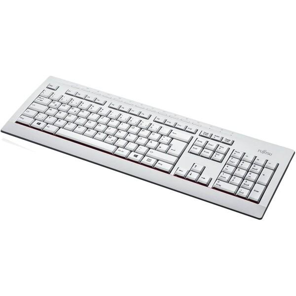 Fujitsu KB521 klávesnice CZ bílá