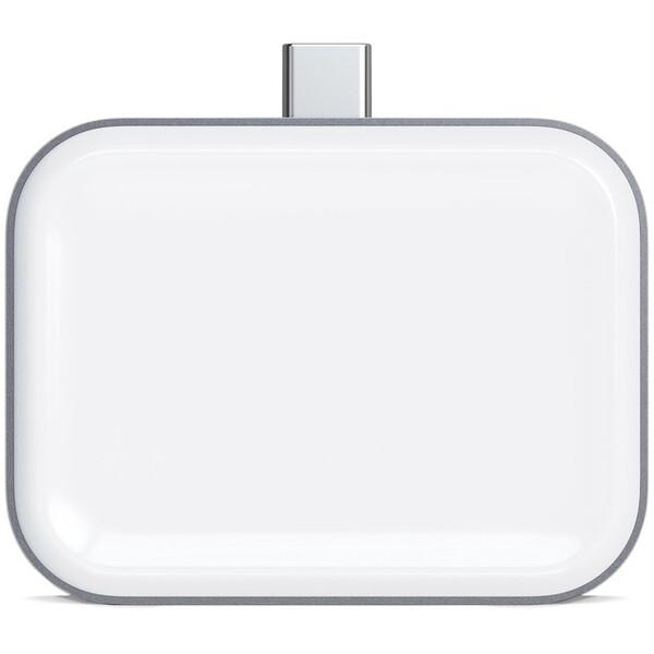 Satechi USB-C Wireless Charging Dock AirPods (5W) vesmírně šedý