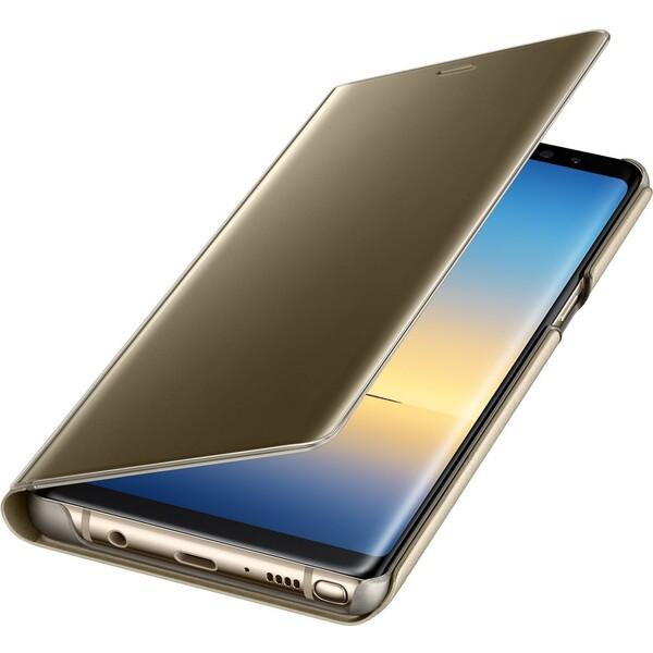 Samsung EF-ZN950C flip clear view Zlatá
