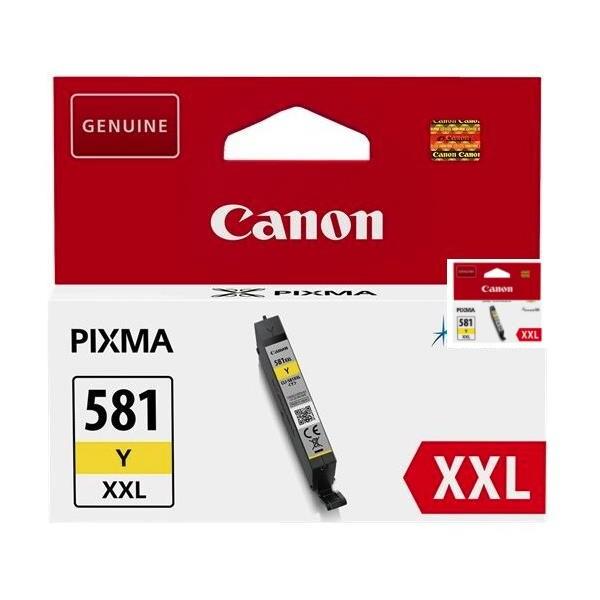 Canon BJ CARTRIDGE CLI-581XXL žlutá