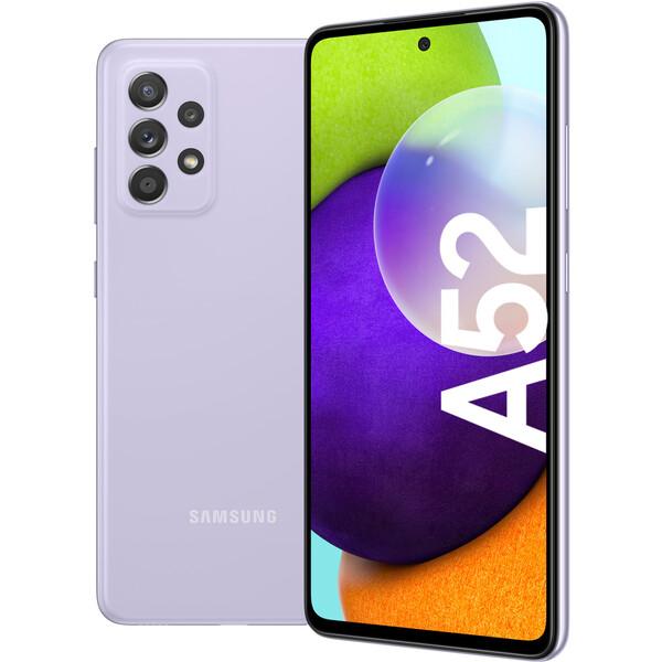 Samsung Galaxy A52 6GB+128GB fialový