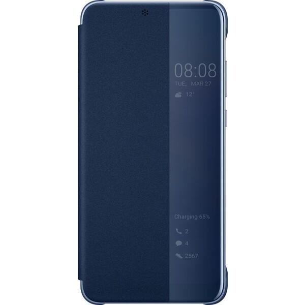 Huawei S-View Cover Huawei P20 modré 51992359 Modrá