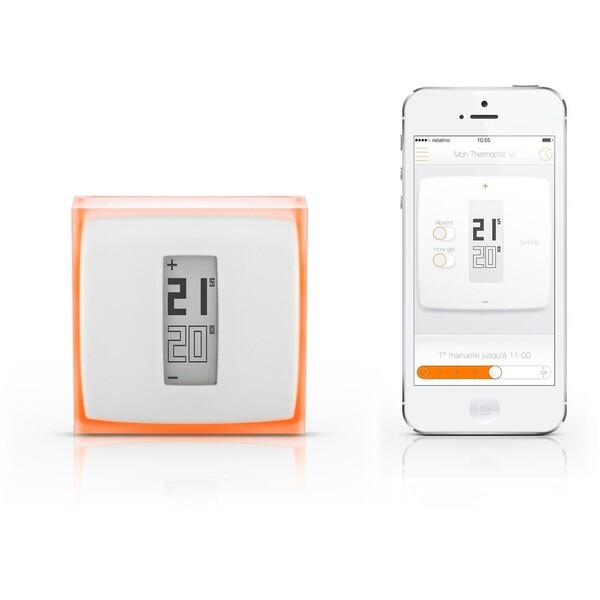 Netatmo Thermostat chytrý termostat pro iOS a Android