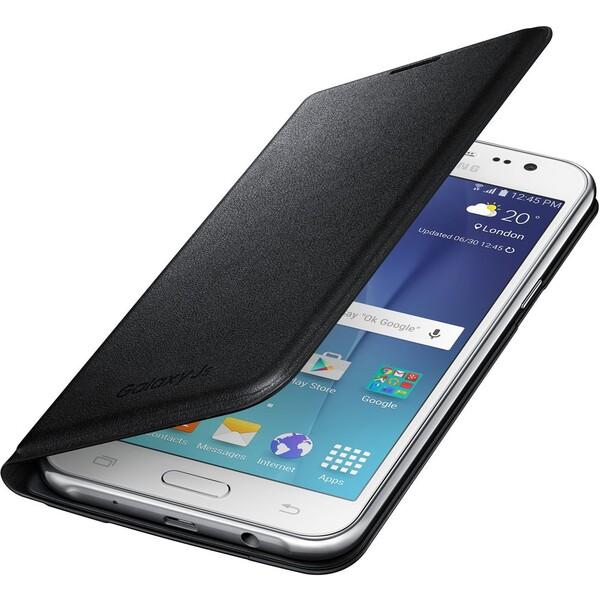 Samsung EF-WJ500BB flip pouzdro Galaxy J5 (2015) černé