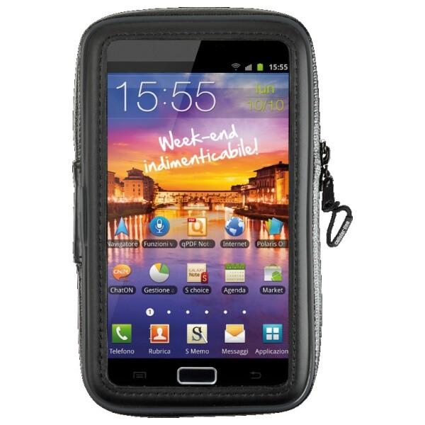 """Interphone SM54 voděodolné pouzdro na řídítka pro 5,4"""" telefony černé"""