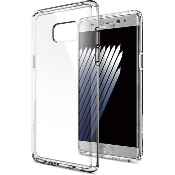 Spigen Ultra Hybrid kryt Samsung Galaxy Note 7 čirý