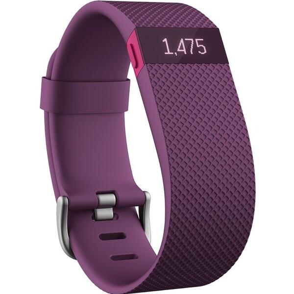 Fitbit Charge HR náramek L fialový