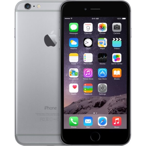 Apple iPhone 6 Plus 64GB Vesmírně šedá