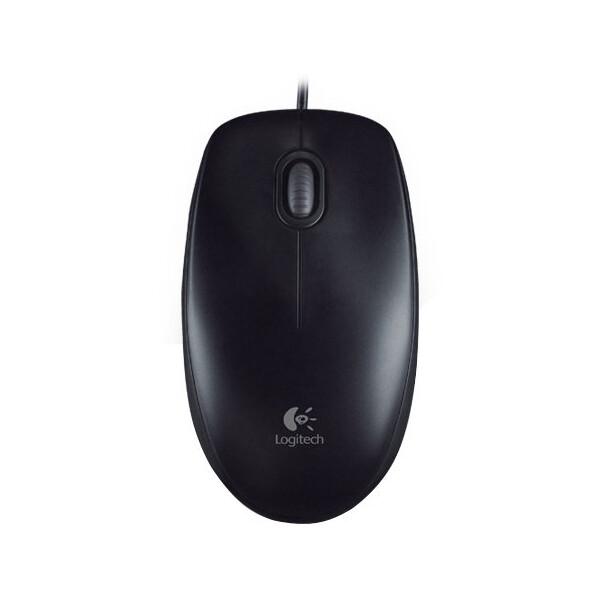 Logitech B100 Optical USB Mouse černá