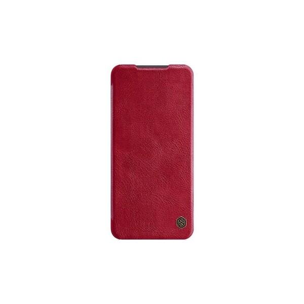 Nillkin Qin Book pouzdro Xiaomi Redmi Note 9 Pro/Note 9s červené