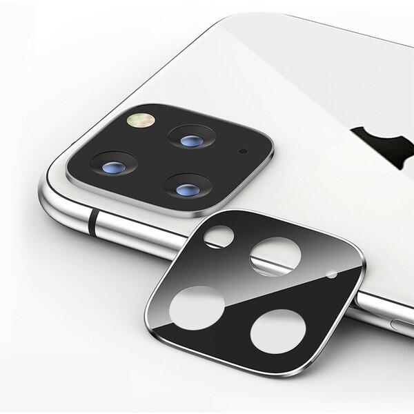 COTEetCI sklíčko na kameru Apple iPhone 11 stříbrné
