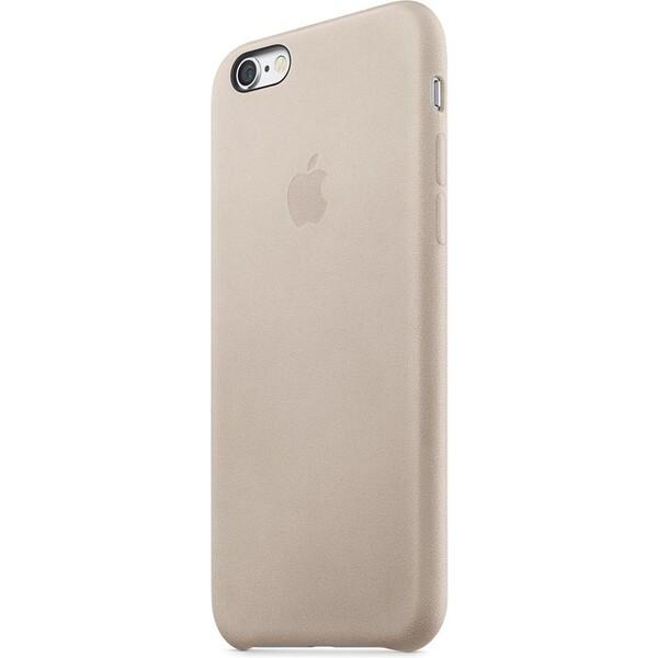 Apple iPhone 6s Plus Leather Case MKXE2ZM/A Šedá