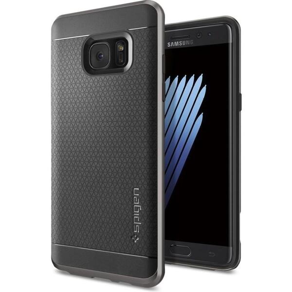 Spigen Neo Hybrid kryt Samsung Galaxy Note 7 šedý