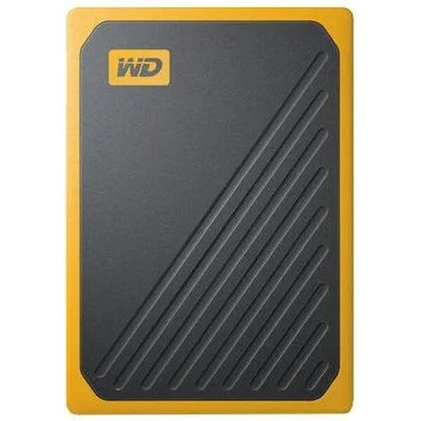 WD My Passport GO SSD 2TB černožlutý