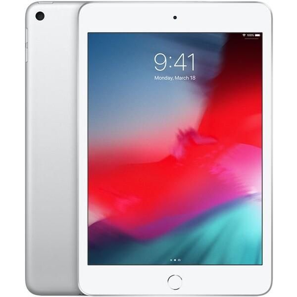 Apple iPad mini (2019), 256GB Wi-Fi + Cellular Stříbrná