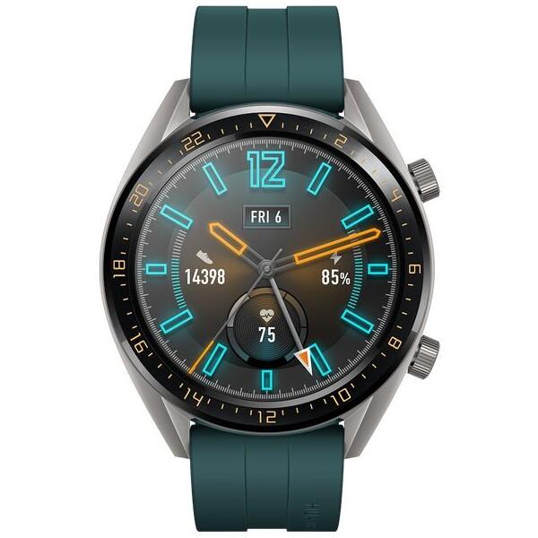 Huawei Watch GT Active tmavě zelené