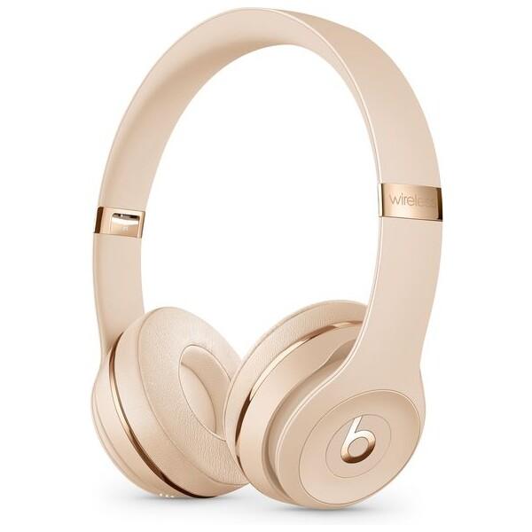Beats by Dr. Dre Solo3 Wireless Saténově zlatá