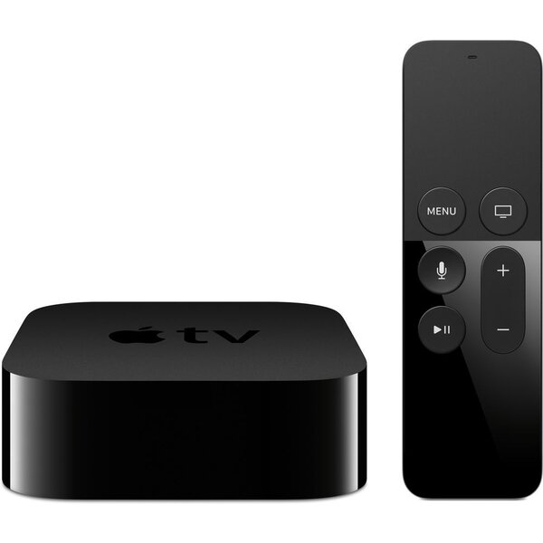 Apple TV 4th GEN 32GB MR912CS/A Černá + Apple TV 32GB ZDARMA