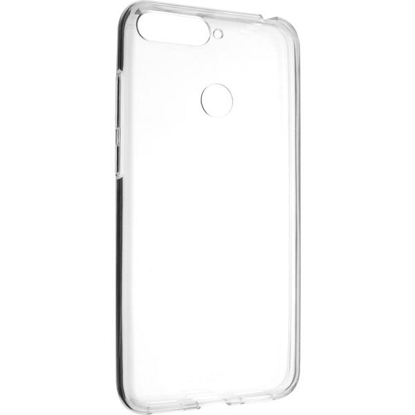FIXED Skin ultratenké TPU pouzdro 0,6 mm Huawei Y6 Prime (2018) čiré