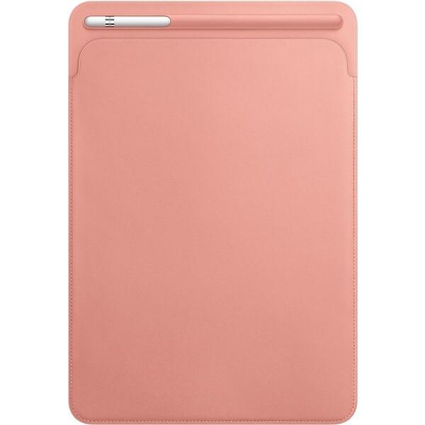 """Apple iPad Pro 10,5"""" Leather Sleeve kožené pouzdro bledě růžový"""