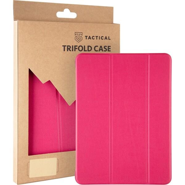 Tactical Book Tri Fold pouzdro Lenovo Tab M10 10.1 růžový