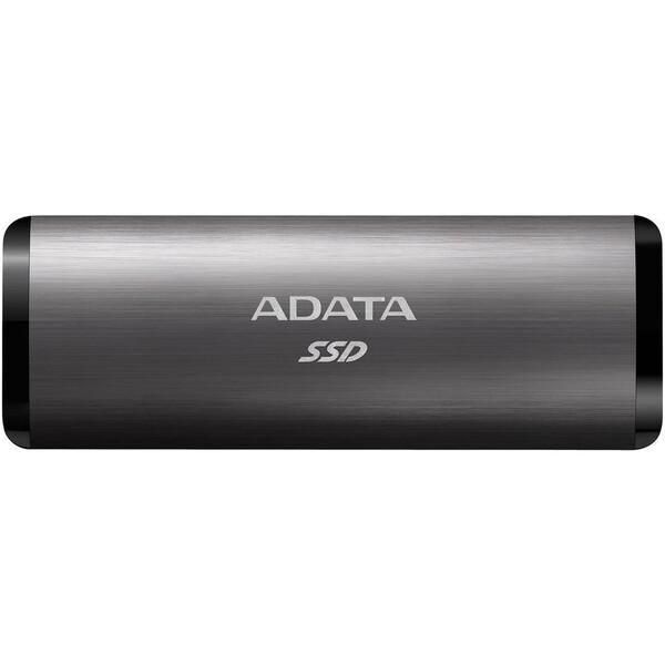 ADATA SE760 externí SSD 256GB titanový