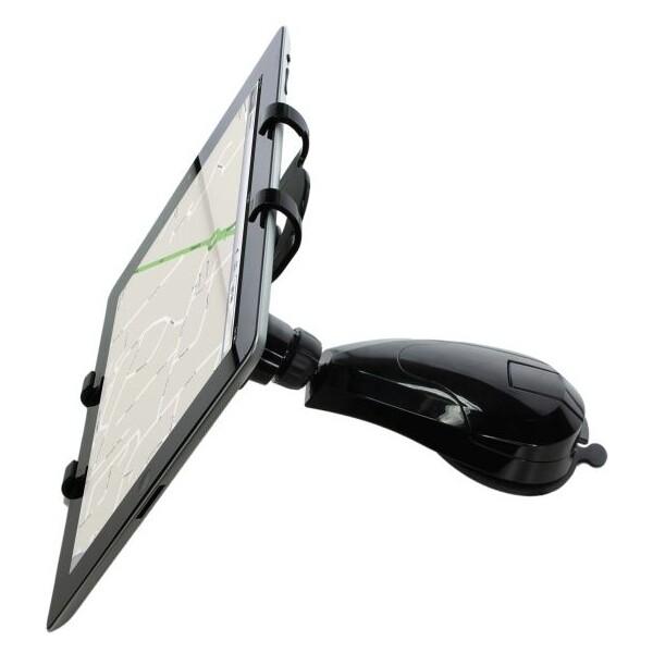 """KIT univerzální držák na přistrojovou desku pro 7""""-10"""" tablety černý"""