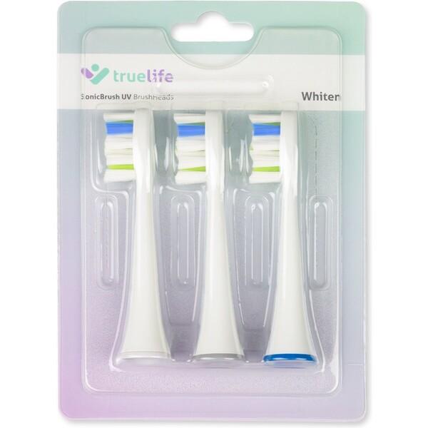 TrueLife SonicBrush UV náhradní hlavice Whiten Triple Pack TLSNUVWH Bílá