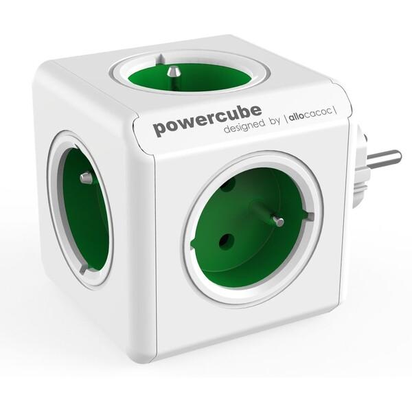 PowerCube Original zásuvka zelená