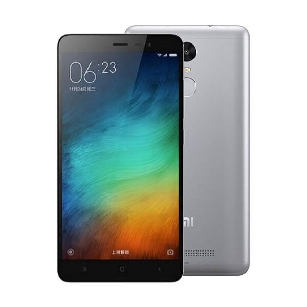 Xiaomi Redmi Note 3 PRO 16GB Dual SIM šedý