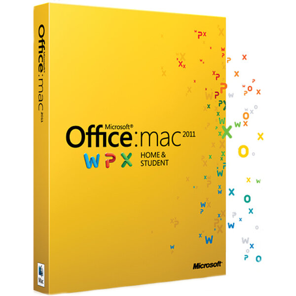 Microsoft Office Home & Student pro Mac