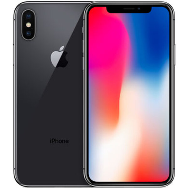 Apple iPhone X 64GB Vesmírně šedá