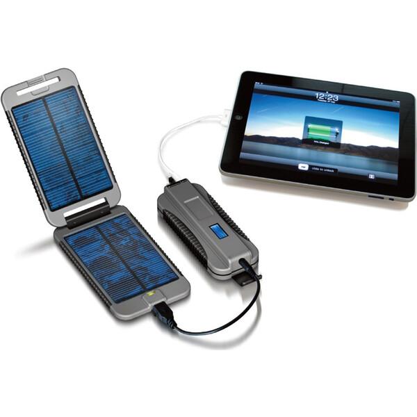Powertraveller Powermonkey Extreme solární nabíječka a záložní zdroj 9000 mAh šedý