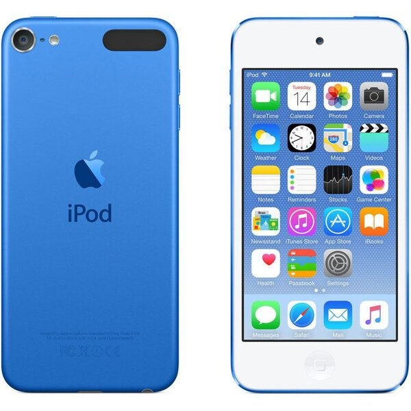 Apple iPod touch 6. generace 16GB Modrá