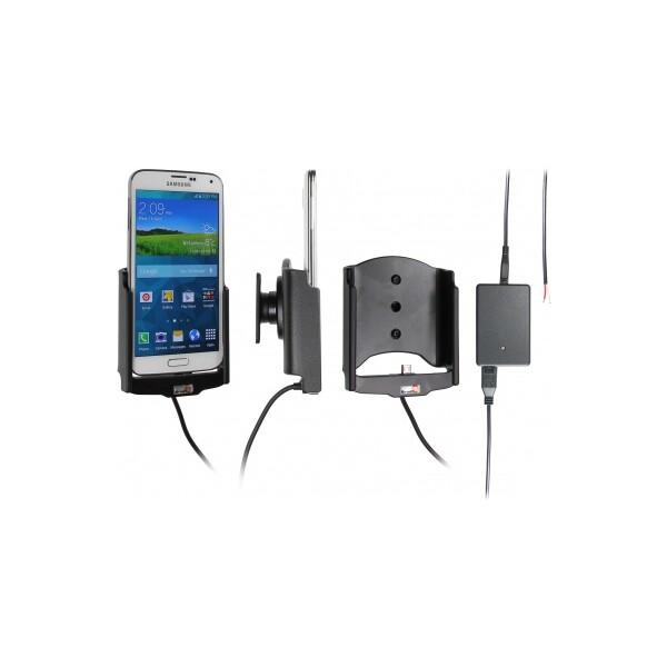 Brodit držák do auta na Samsung Galaxy S5 G900 bez pouzdra, se skrytým nabíjením 513623 Černá