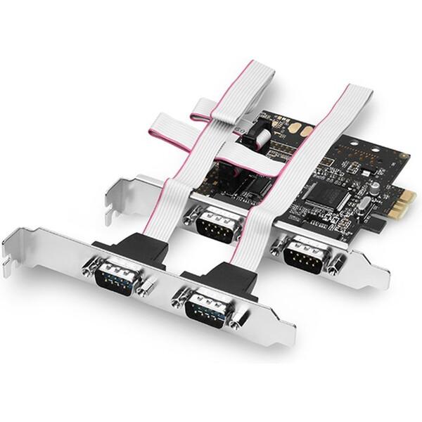 AXAGON PCEAS4 PCIe adaptér 4x sériový port (RS232)