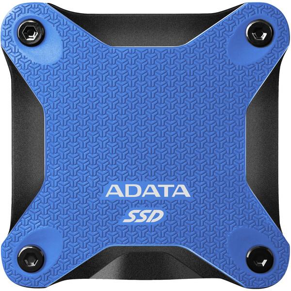 ADATA SD600Q externí SSD 240GB modrý