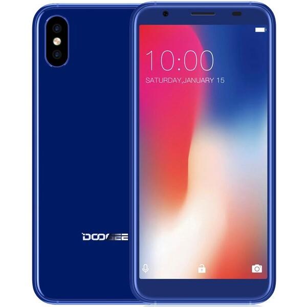 DOOGEE X55 Modrá