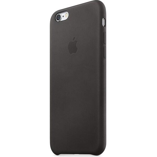 Apple iPhone 6s Leather Case MKXW2ZM/A Černá