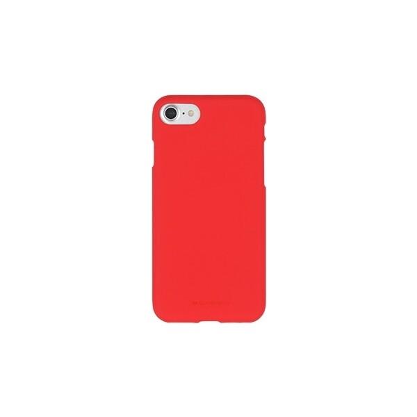 Pouzdro Mercury Soft Feeling Apple iPhone 5   5S   SE Červená cdfa4a766f9