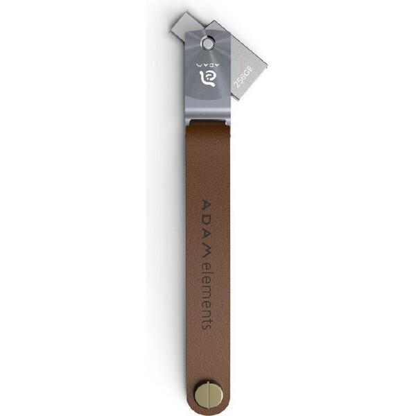 Adam Elements Roma flash disk USB-C/USB 3.1 ADRAD256GRMGY Šedá