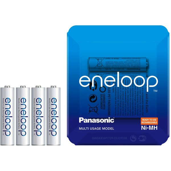 Panasonic eneloop HR03 AAA 4MCCE/4LE Sliding Pack 4ks