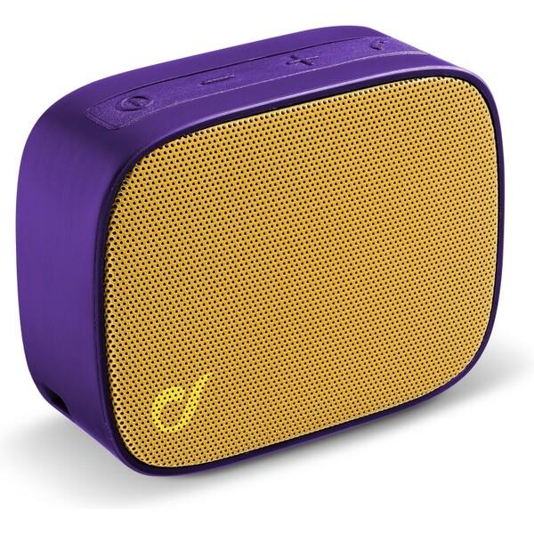 Cellularline FIZZY bezdrátový reproduktor fialovo-žlutý