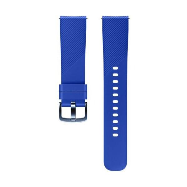 Samsung silikonový řemínek Samsung Gear Sport modrý ET-YSN60MLEGWW Modrá
