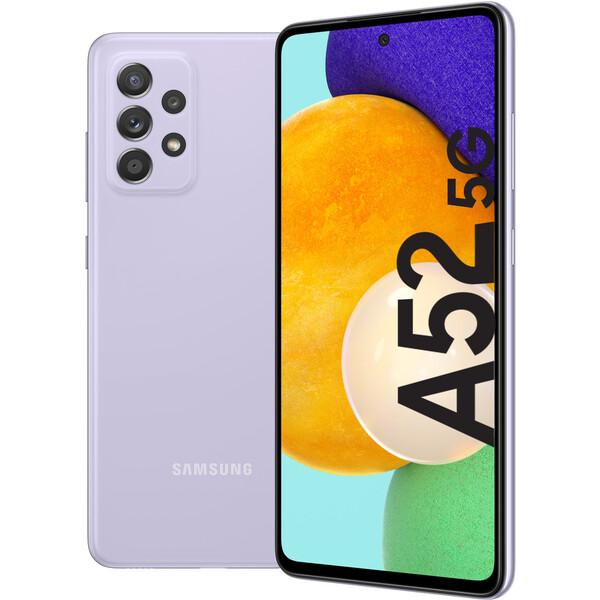 Samsung Galaxy A52 5G 6GB+128GB fialový